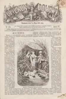 Opiekun Domowy. R.4, nr 20 (20 maja 1868)