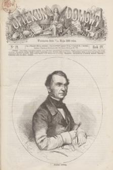 Opiekun Domowy. R.4, nr 21 (27 maja 1868)
