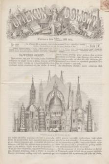 Opiekun Domowy. R.4, nr 22 (3 czerwca 1868)