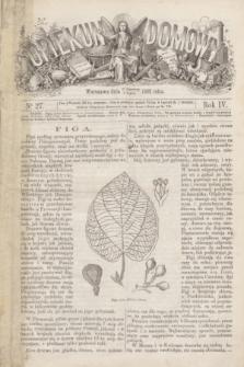 Opiekun Domowy. R.4, nr 27 (8 lipca 1868)