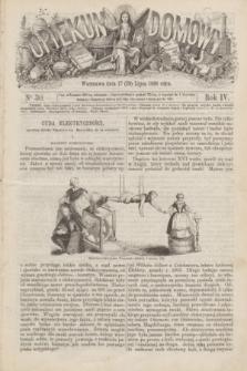 Opiekun Domowy. R.4, nr 30 (29 lipca 1868)