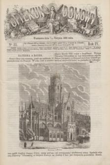 Opiekun Domowy. R.4, nr 33 (19 sierpnia 1868)