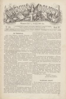 Opiekun Domowy. R.4, nr 50 (16 grudnia 1868)