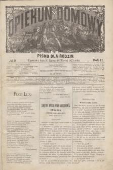 Opiekun Domowy : pismo dla rodzin. R.11, № 9 (4 marca 1875)