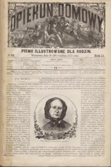 Opiekun Domowy : pismo illustrowane dla rodzin. R.11, № 52 (30 grudnia 1875)