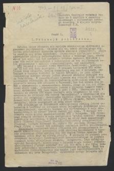 Biuletyn Centralny. 1943, [nr 1], cz. 1 ([1 marca])