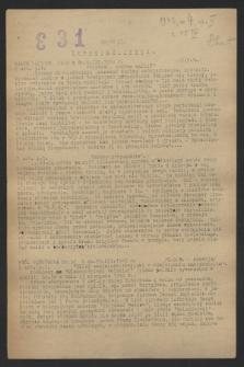 Biuletyn Centralny. 1943, [nr 4], cz. 2 ([15 kwietnia])
