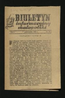 Biuletyn Informacyjny Małopolski. 1942, nr 36 (7 października)