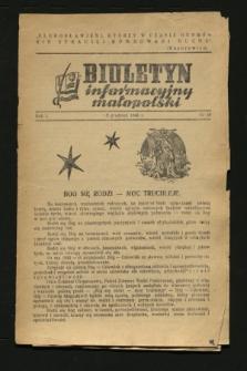 Biuletyn Informacyjny Małopolski. 1942, nr 44 (25 grudnia)
