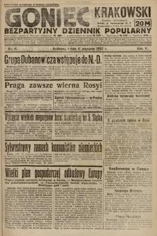 Goniec Krakowski : bezpartyjny dziennik popularny. 1922, nr4