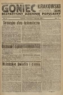 Goniec Krakowski : bezpartyjny dziennik popularny. 1922, nr5