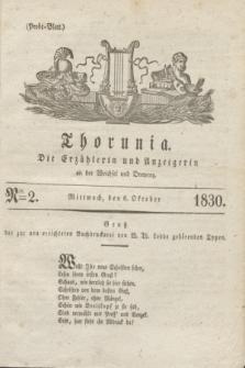 Thorunia : die Erzählerin und Anzeigerin an der Weichsel und Drewenz. [Jg.1], Nro. 2 (6 Oktober 1830) + dod.