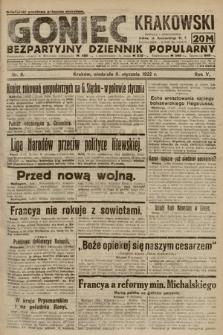 Goniec Krakowski : bezpartyjny dziennik popularny. 1922, nr8