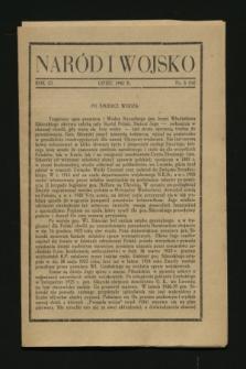 Naród i Wojsko. R.3, nr 6 (lipiec 1943) = nr 16