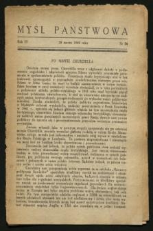 Myśl Państwowa. R.3 [i.e.4], Nr 56 (29 marca 1944)
