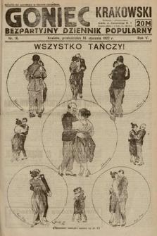 Goniec Krakowski : bezpartyjny dziennik popularny. 1922, nr16