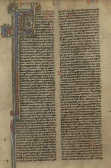 Biblia Latina (Vetus Testamentum; Novum Testamentum) cum Prologis