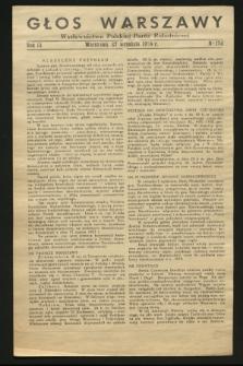 Głos Warszawy : wydawnictwo Polskiej Partii Robotniczej. R.3, nr 178 (27 września 1944)