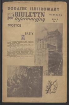 Biuletyn Informacyjny Dodatek Ilustrowany. R.1, nr 1 ([1944])