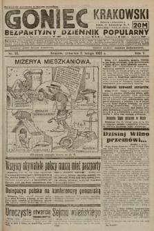 Goniec Krakowski : bezpartyjny dziennik popularny. 1922, nr33