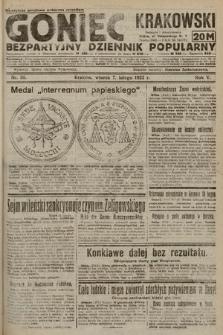 Goniec Krakowski : bezpartyjny dziennik popularny. 1922, nr38