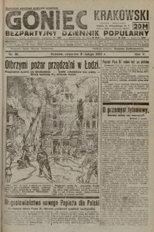 Goniec Krakowski : bezpartyjny dziennik popularny. 1922, nr40