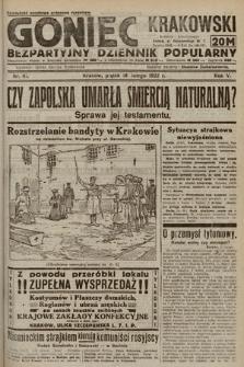 Goniec Krakowski : bezpartyjny dziennik popularny. 1922, nr41