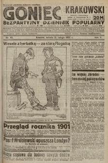 Goniec Krakowski : bezpartyjny dziennik popularny. 1922, nr42