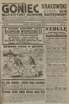 Goniec Krakowski : bezpartyjny dziennik popularny. 1922, nr46