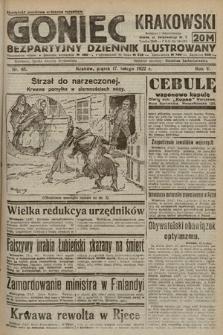 Goniec Krakowski : bezpartyjny dziennik popularny. 1922, nr48