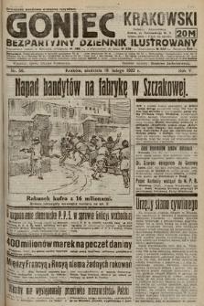 Goniec Krakowski : bezpartyjny dziennik popularny. 1922, nr50