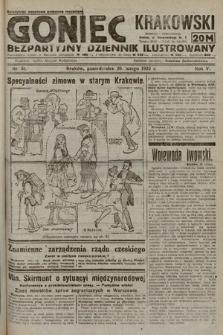 Goniec Krakowski : bezpartyjny dziennik popularny. 1922, nr51