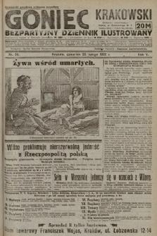 Goniec Krakowski : bezpartyjny dziennik popularny. 1922, nr54