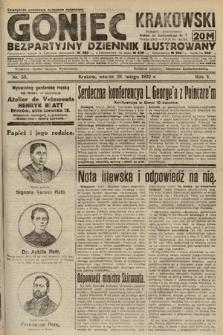 Goniec Krakowski : bezpartyjny dziennik popularny. 1922, nr59