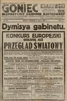 Goniec Krakowski : bezpartyjny dziennik popularny. 1922, nr64