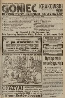 Goniec Krakowski : bezpartyjny dziennik popularny. 1922, nr65