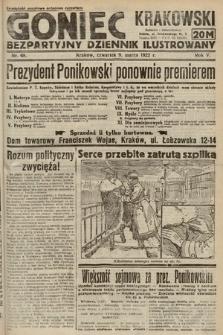 Goniec Krakowski : bezpartyjny dziennik popularny. 1922, nr68