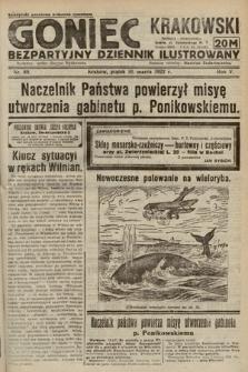 Goniec Krakowski : bezpartyjny dziennik popularny. 1922, nr69
