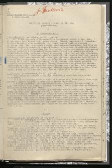 Komunikat Radiowy z dnia 19 XI 1941 - wydanie popołudniowe