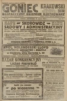 Goniec Krakowski : bezpartyjny dziennik popularny. 1922, nr72