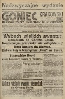 Goniec Krakowski : bezpartyjny dziennik popularny. 1922, nr76 (nadzwyczajne wydanie)