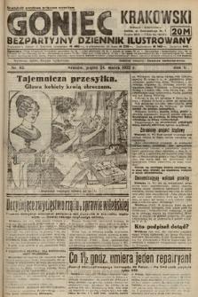 Goniec Krakowski : bezpartyjny dziennik popularny. 1922, nr83