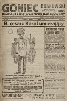 Goniec Krakowski : bezpartyjny dziennik popularny. 1922, nr90