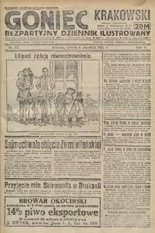 Goniec Krakowski : bezpartyjny dziennik popularny. 1922, nr97