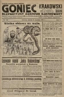 Goniec Krakowski : bezpartyjny dziennik popularny. 1922, nr100