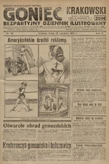 Goniec Krakowski : bezpartyjny dziennik popularny. 1922, nr101