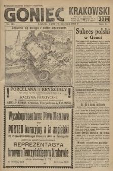 Goniec Krakowski : bezpartyjny dziennik popularny. 1922, nr103