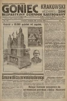 Goniec Krakowski : bezpartyjny dziennik popularny. 1922, nr107