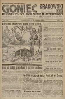 Goniec Krakowski : bezpartyjny dziennik popularny. 1922, nr109