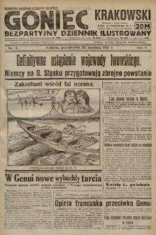Goniec Krakowski : bezpartyjny dziennik popularny. 1922, nr111